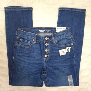 Old Navy The Power Jean Cropped Jeans